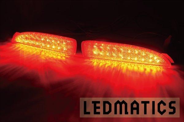 画像1: DY デミオ 純正加工LEDリフレクター MZ6-40