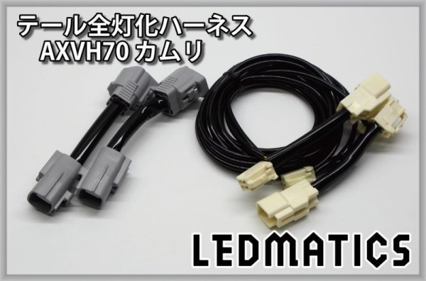 画像3: AXVH70 カムリ LED テール全灯化ハーネス G/Gレザー