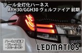 AYH30/GGH30 アルファード 前期 LED テール全灯化ハーネス
