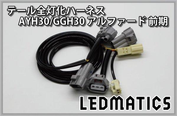 画像3: AYH30/GGH30/35/AGH30/35 アルファード 前期 LED テール全灯化ハーネス