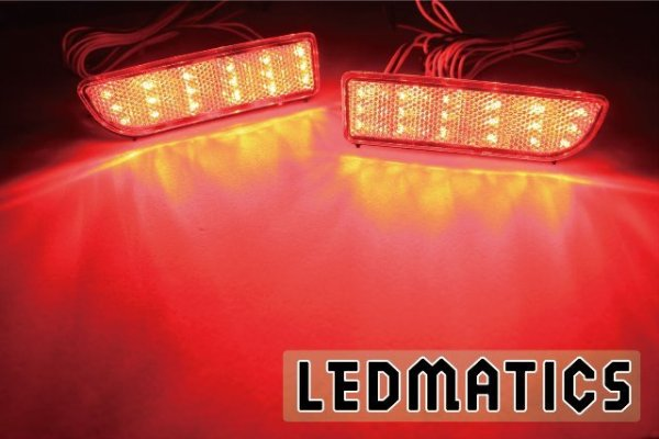 画像1: CV5W デリカD5 純正加工LEDリフレクター MI2-36