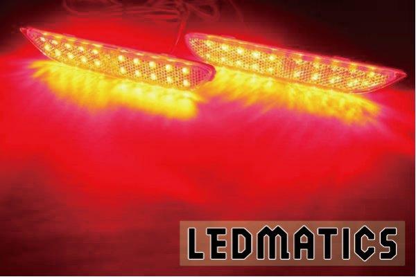 画像1: T32 エクストレイル 前期 1型 純正加工LEDリフレクター N6-40