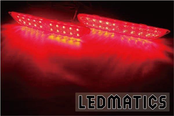 画像2: T32 エクストレイル 前期 1型 純正加工LEDリフレクター N6-40