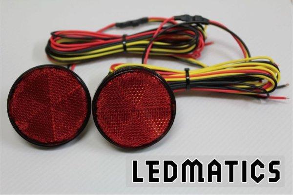 画像3: E52 エルグランド ライダー 純正加工LEDリフレクター TM1-40