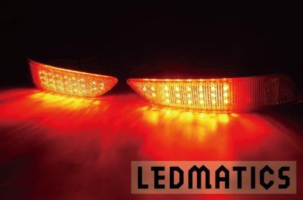 画像1: レクサス USF/UVF4# LS600h 後期 純正加工LEDリフレクター L6-42