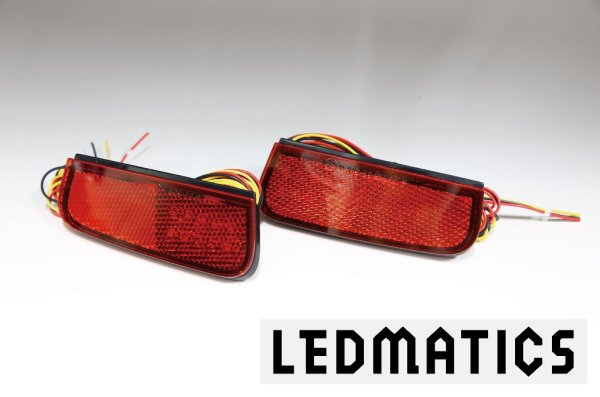 画像3: 130系 ヴィッツ Vitz 後期3型 純正加工LEDリフレクター T22-40