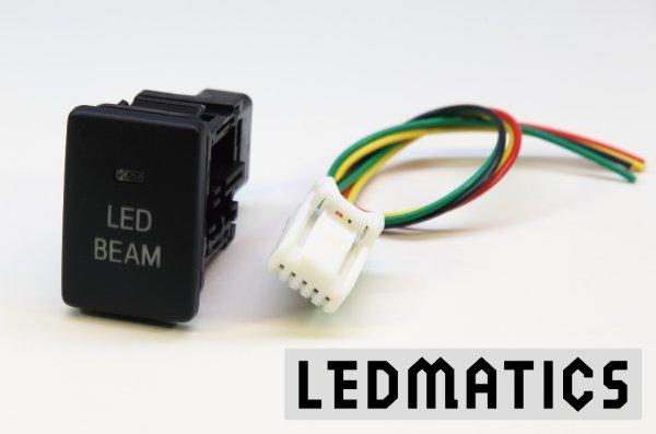 画像3: トヨタ LED BEAMスイッチ PLあり 白LED/青LED SW-LB2