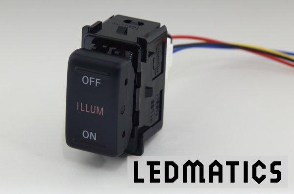 画像2: 日産 オーテック イルミスイッチ 純正LED/黄LED SW-OI21
